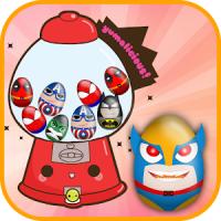 Vending Machine Eggs Super Hero