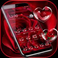 Red Rose Diamond Theme