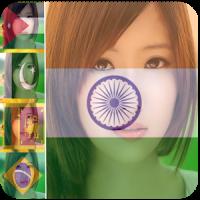 Flag Face Profile Photo Editor