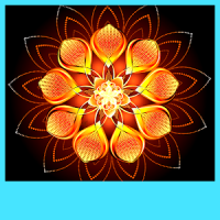 Glowing Flower Live Wallpapers
