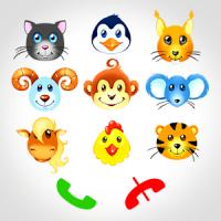 動物とのキッズ·ベビーフォン
