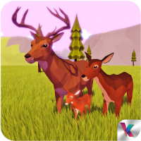 Deer Simulator Fantasy Jungle