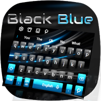 Black Blue Keyboard