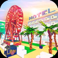 Miami Craft: Blocky City Building Addicting Games