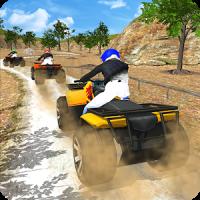 Quad ATV Rider Off-Road Racing: Hill Drive Game