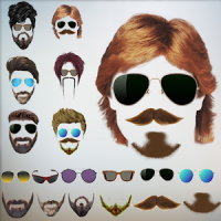 Cool Beard & Mustache Photo Editor-Man Hairstyles