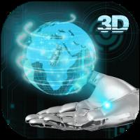 Transparent Earth 3D Theme