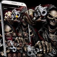 evil Skeleton brother 3d theme