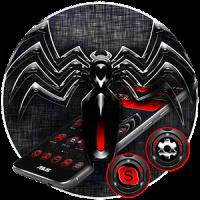 Red Black Spider Theme