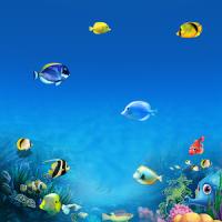 Deep Sea World Ocean Theme