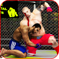Martial Art Cage Battle King: MMA Fighting Games