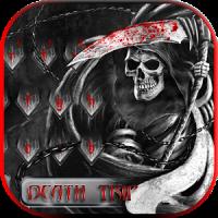 Skull grim reaper Keyboard Theme