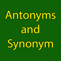 Antonyms and Synonym In Hindi & English