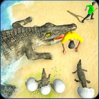 Crocodile Simulator Attack Game 3D