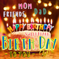 Birthday Greeting Cards to You and everyone.