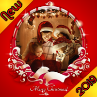Christmas Photo Frames, Effects & Cards Art 2019