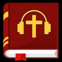 Audio Bible offline mp3 in English app: KJV & NIV