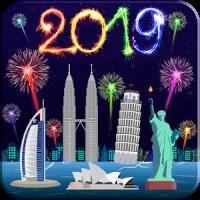 New Year Fireworks Livewallpaper 2019