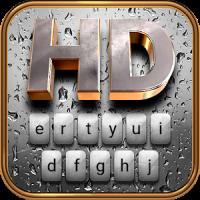 Rain HD Animated Keyboard + Live Wallpaper