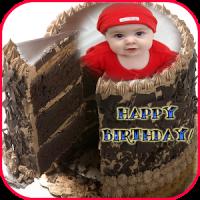 Birthday Chocolate Cake Frames