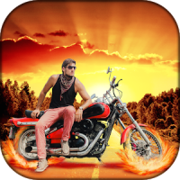 Bike Pic Blend Photo Editor
