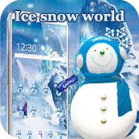 HD ice snow Queen snow theme