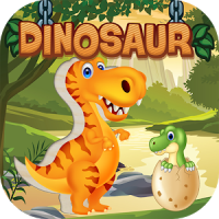 Dinosaurs puzzles for kids