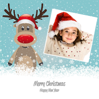 Christmas Deco Photo Collage & PIP Art Camera