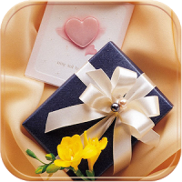 Gold gift Theme present