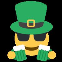 St. Patrick Day Emoji Sticker