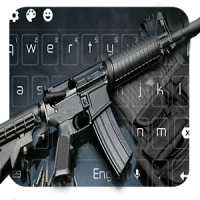 Submachine Gun Keyboard Themes