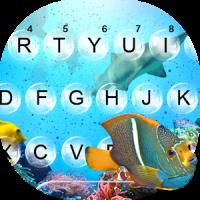 UnderwaterWorld Live Keyboard Theme