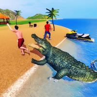 Angry Crocodile Family Simulator