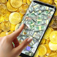 Money Live Wallpaper Flying Bills Animation