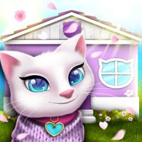 Pet Cat House Decoration Games