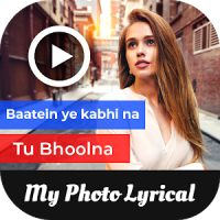 Photo Lyrical Video Status Maker With Music