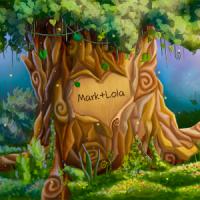Tree of Love Live Wallpaper