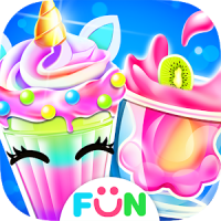 Unicorn Milkshake Maker –Ice Drink Milkshakes Game
