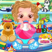 Jogo Cuide do Bebê com Anna