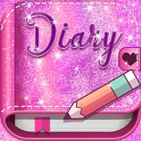 Pink Glitter Secret Diary