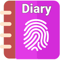 Secret Diary With Fingerprint Lock - NEW