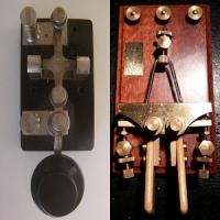2 Amateur ham CW Morse code practice oscillators