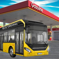 Gas Station Bus Driving Games - New Games 2020