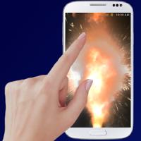 Explosion screen simulator prank