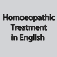 Homoeopathic Treatment in English