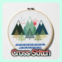 Cross Stitch Patterns   Simple & Easy for beginner