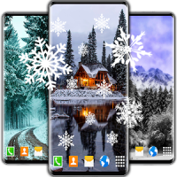 Snow Live Wallpaper ❄️ White Winter HD Wallpapers