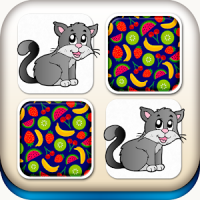 Animals Matching Game For Kids