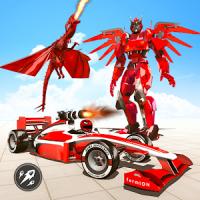 Formula Car Robot Transform
