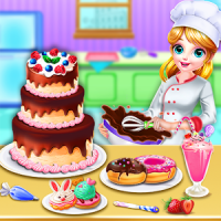 Sweet bakery Dessert Chef-Cake game & Baking Games
